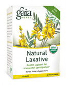 RapidRelief Herbal Tea Natural Laxative Caffeine-Free 20 Tea Bags 1.55 oz (44 g), Gaia Herbs