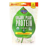 Organic Plant Protein Smooth Energy 9 oz (240 g), Garden of Life