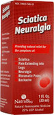 Sciatica Neuralgia Relief 1 oz, Natra Bio, Rheumatic Pain