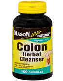 Colon Herbal Cleanser 100 Caps, Mason Vitamins
