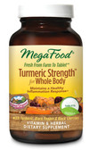 Turmeric Strength for Whole Body 120 Tabs, MegaFood