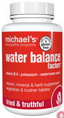 Water Balance Factors 120 Veggie Tabs, Michael's Naturopathic