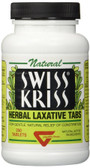 Swiss Kriss Herbal Laxative Tabs 250 Tabs, Modern Products