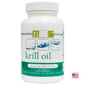 Krill Oil DX 1000 mg 60 sGels, Natural Dynamix