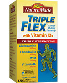 Triple Flex Triple Strength with Vitamin D3 120 Caplets, Nature Made