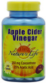 Apple Cider Vinegar 250mg 250 Tabs, Nature's Life