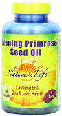 Evening Primrose Seed Oil 100 sGels, Nature's Life