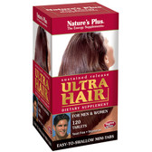 Ultra Hair Sustained Release For Men & Women 120 Tabs, Nature's Plus