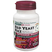 Herbal Actives Red Yeast Rice 600 mg 30 Tabs, Nature's Plus