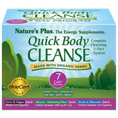 Quick Body Cleanse 7 Day Program 3 Part Program, Nature's Plus