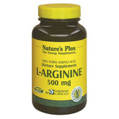 L-Arginine 500 mg 90 Veggie Caps, Nature's Plus