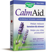 Calm Aid Clinically Proven Lavender 30 sGels, Nature's Way