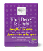 Blue Berry Eyebright 60 Tabs, New Nordic US