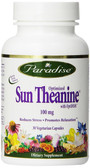 Optimized Sun Theanine 100 mg 30 Veggie Caps, Paradise Herbs