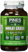 Wheat Grass 500 mg 250 Tabs, Pines International