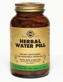 Herbal Water Pill 100 Veggie Caps, Solgar