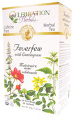 Feverfew Lemongrass Organic 24 Tea Bags Celebration Herbals