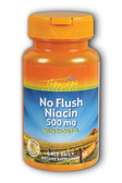 No Flush Niacin 500 mg 30 Veggie Caps, Thompson