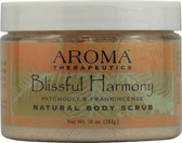 Natural Body Scrub Blissful Harmony Patchouli and Frankincense 10 oz (283 g), Abra Therapeutics