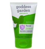 Organics Facial Natural Sunscreen SPF 30 3.4 oz (100 ml), Goddess Garden