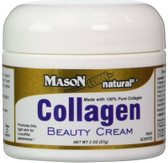 Collagen Beauty Cream Pear Scented 2 oz (57 g), Mason, Face, Neck, Body