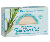 Purifying Cleansing Bar Energizing Tea Tree Oil 3.5 oz (100 g), Nature's Plus