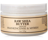 Raw Shea Butter Infused with Frankincense & Myrrh 4 oz (113 g), Nubian Heritage