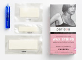 Wax Strips Natural Hair Removal System 24 Assorted Strips, Parissa