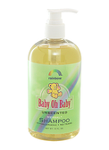 Baby Oh Baby Herbal Shampoo Unscented 16 oz, Rainbow Research