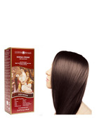 Henna Cream High-Performance Healthy Hair Color for Grey Coverage Dark Brown 2.37 oz (70 ml), Surya Henna