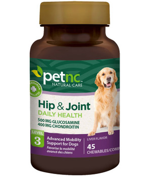 Pet Natural Care Advanced Hip & Joint Health All Dogs Savory Flavor 45 Chewables, 21st Century Health Care