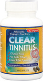 Clear Tinnitus 60 Caps Clear Products, Hearing, Ringing, Hissing