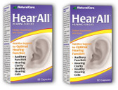 2 x HearAll 60 Caps Natural Care, Hearing, 2-Pack