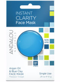 Instant Clarity Argan Oil & Blue Clay Face Mask .28 oz Andalou Skin Care