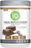 Essential 10 Meal Replacement Protein-Rich Chocolate 1.32 lbs, Designer Protein
