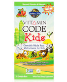Vitamin Code Whole Food Kids Multivitamin Cherry Berry 30 Bears, Garden of Life