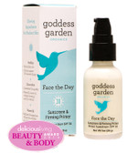 Organics Face the Day Sunscreen & Firming Primer SPF 30 1 oz, Goddess Garden