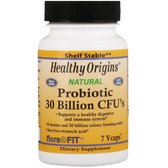 Probiotics 30 Billion CFU's 7 Vcaps, Healthy Origins