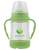 Green Sprouts Glass Sip & Straw Cup Green 6-9+ Months 4 oz (125 ml), iPlay