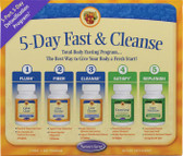 Ultimate Fasting Cleanse Kit 5 pc Nature's Secret, Natural Body Cleansing