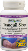 Stress-Relax Tranquil Sleep 90 Enteric Coated sGels, Natural Factors
