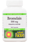 Bromelain 500 mg 180 Capsules Natural Factors, Digestion