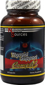 Thyroid Support Complex 60 Capsules, Natural Sources