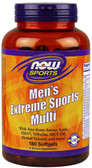 Sports Men's Extreme Sports Multi 180 sGels, Now Foods