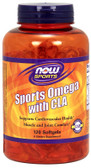 Now Sports Sports Omega with CLA 120 sGels, Now Foods
