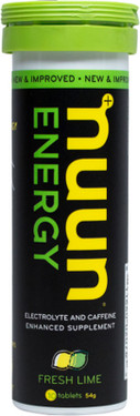 Energy Fresh Lime 10 Tabs 1.9 oz Nuun Hydration