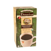 Herbal Coffee Dark Roast Organic French Roast C-F 25 Tee Bags, Teeccino