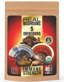 5 Defenders Extract Blend Real Mushrooms 1.59 oz, for Coffee & Tea