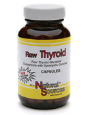 Raw Thyroid 180 Caps Natural Sources, Glandular Concentrate