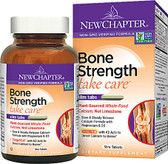 Bone Strength Take Care 60 Tabs New Chapter, with D3, K2, Magnesium